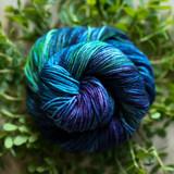 Wild Blueberry DK Hand Dyed Yarn