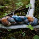 Butterfly Hand Dyed Sock Yarn