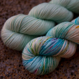 Sea Glass and Sandy Towel Yarn