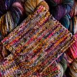 Nebula Knit Swatch