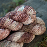 Grizzly Hand Dyed Yarn