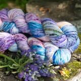Lupine Hand Dyed Yarn