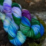 Wild Iris Hand Dyed Yarn