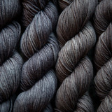 Pewter Worsted and DK Yarn