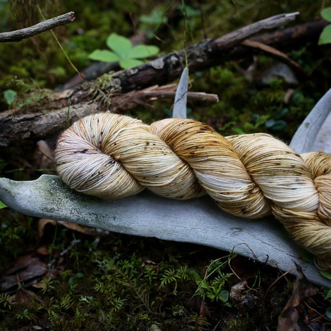 Doe Hand Dyed Sock Yarn