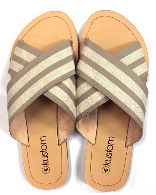 Symi Stripe Ladies Sandal