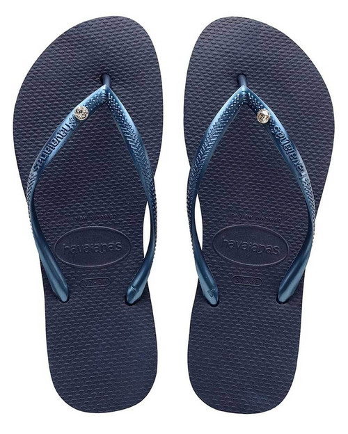 Slim Crystal Navy Blue