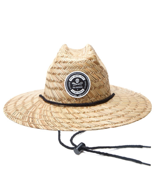 Sea Shepherd Straw Hat