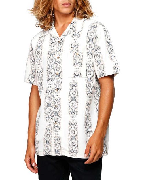 Vacay Print Mens SS Shirt