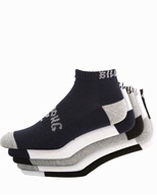Ankle Socks Five Pack Std Mixed
