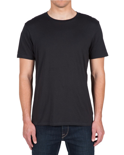 Solid SS Tee Black