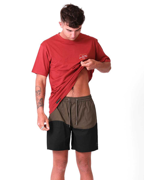 Tide Short - Army/Black