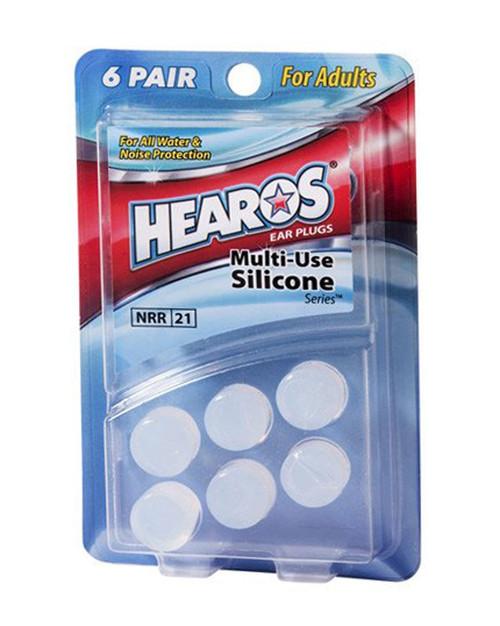 Hearos Ear Plugs Silicone 6