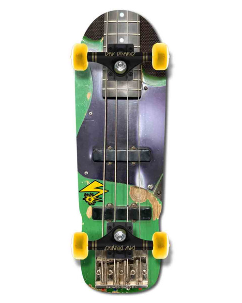 Bad Brains Bass GTR 9.5 Skateboard
