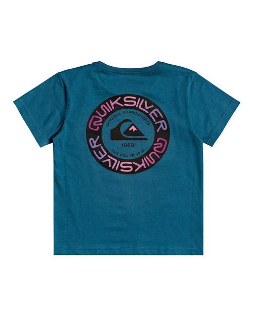 Time Circle SS Boy - Blue Coral