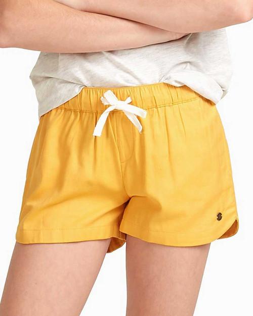 Una Mattina Girls Short - Mineral Yellow