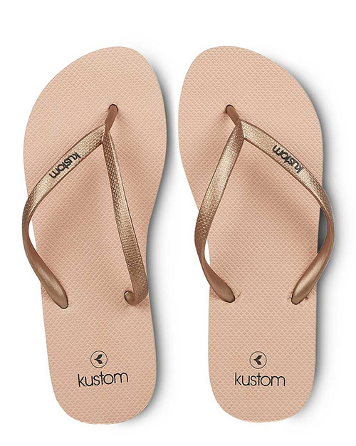 Classic Ladies Jandal Rose Tan