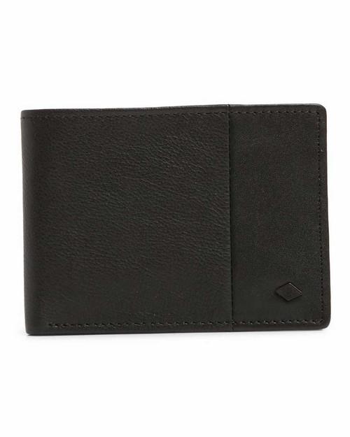 Downtown RFID Slim Line Wallet - Black
