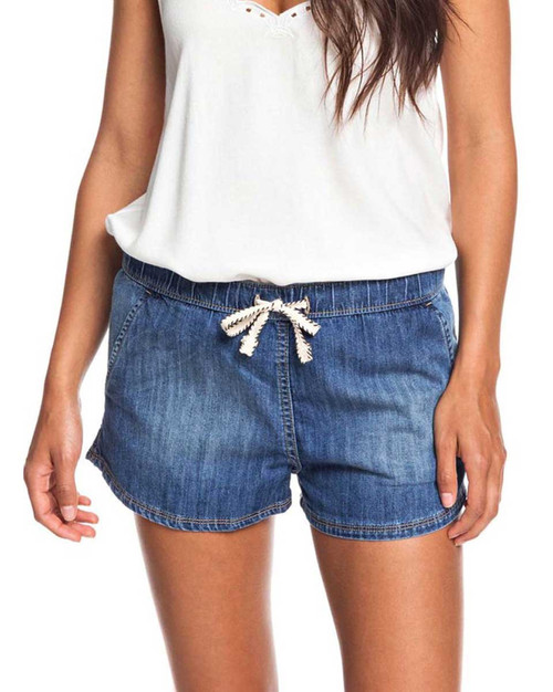 Go To The Beach Denim Short