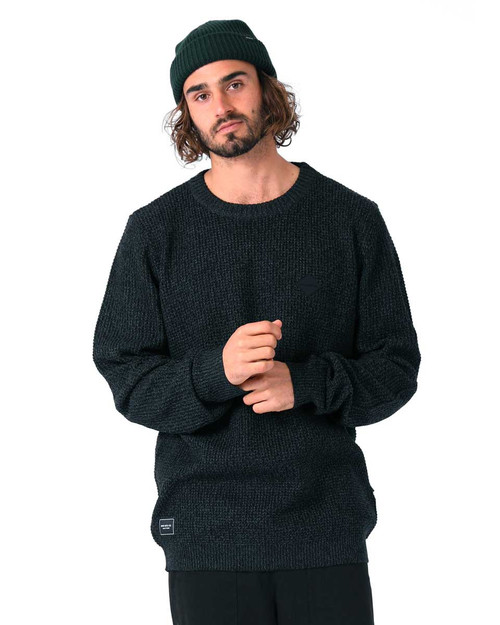 Angler Knit - Black