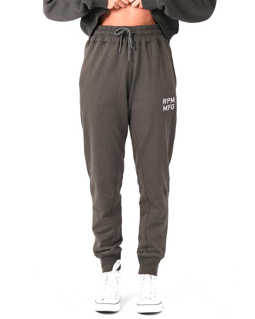 Slouch Trackie - Charcoal