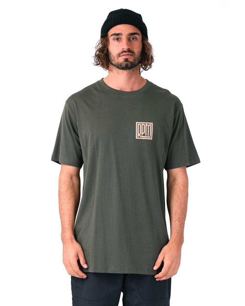 Square Tee - Army