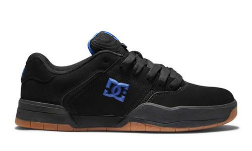 Central Mens DC Shoe Black Blue