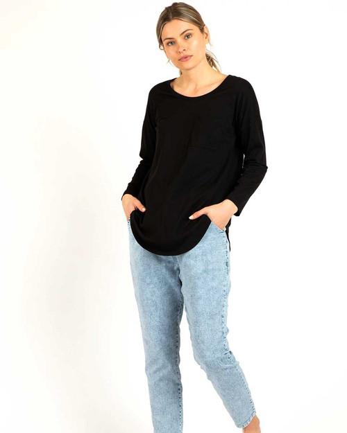 Phoebe Top - Black