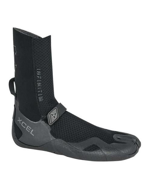 Xcel Infiniti 3mm Split Toe Boot - Black