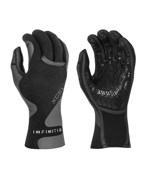 Xcel Infiniti 5 Finger Gloves 1.5mm - Black