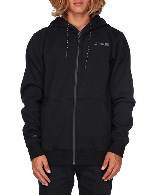 ADIV Shoreline Furnace Zip Hood - Black