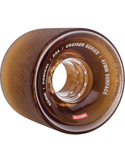 Conical Cruiser Wheel (Clear Coffee)