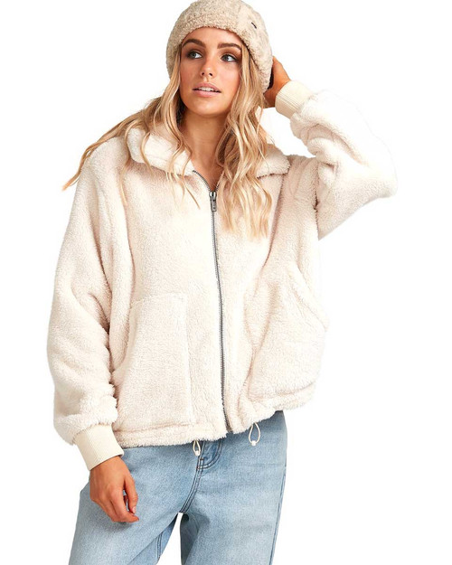 Always Cozy Jacket - Whisper