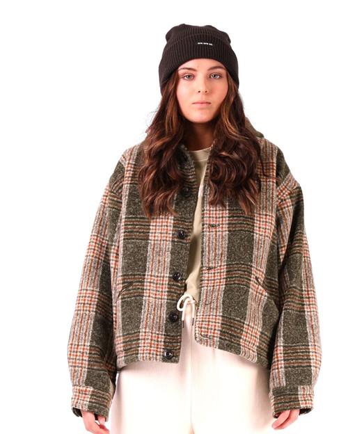 Winter Jacket - Green Plaid