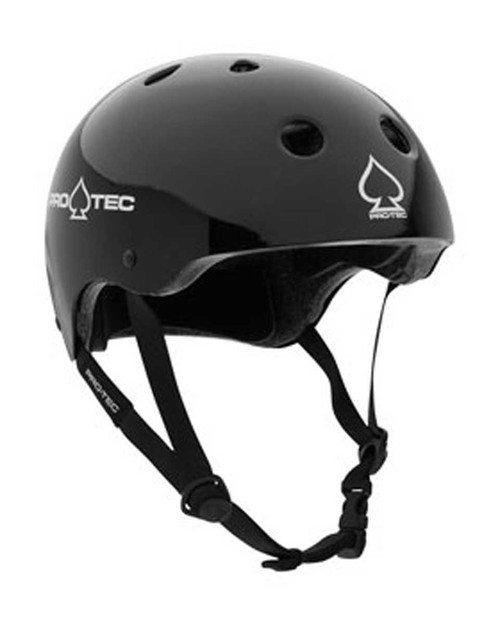 Pro-Tec Skate Helmet - Gloss Blk