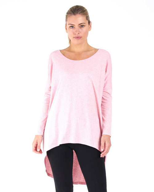 Nelly Long Sleeve Top - Carnation