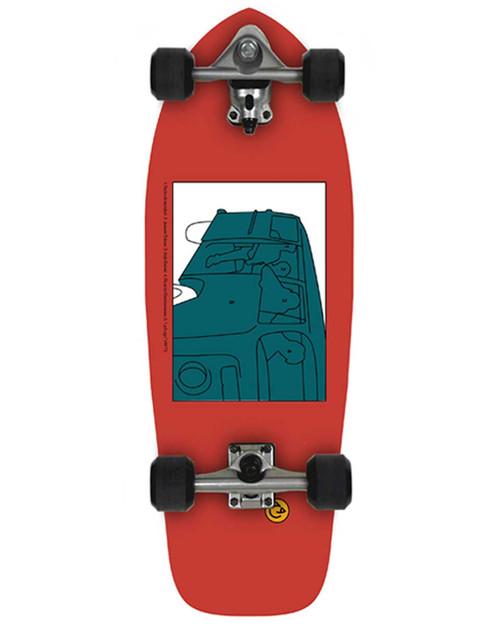 """Slide Joyful Heritage30"""" Surf Skate"""