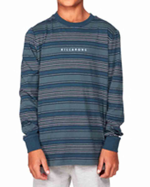 Boys Mix Up Stripe LS