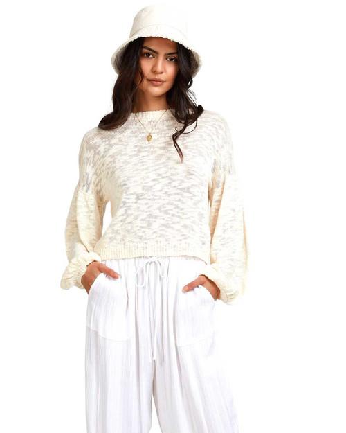 Sunray Sweater - White