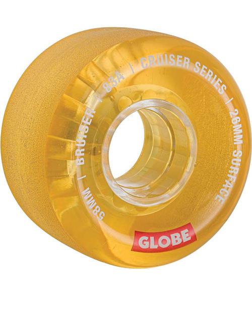Bruiser Skateboard Wheels - Clear Honey