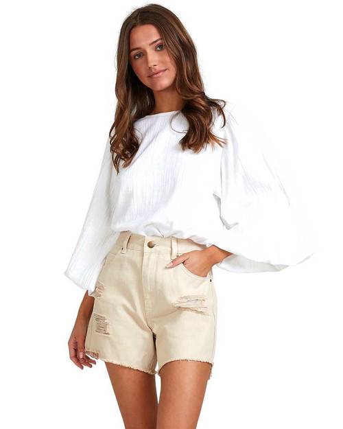 Wishes Top - White