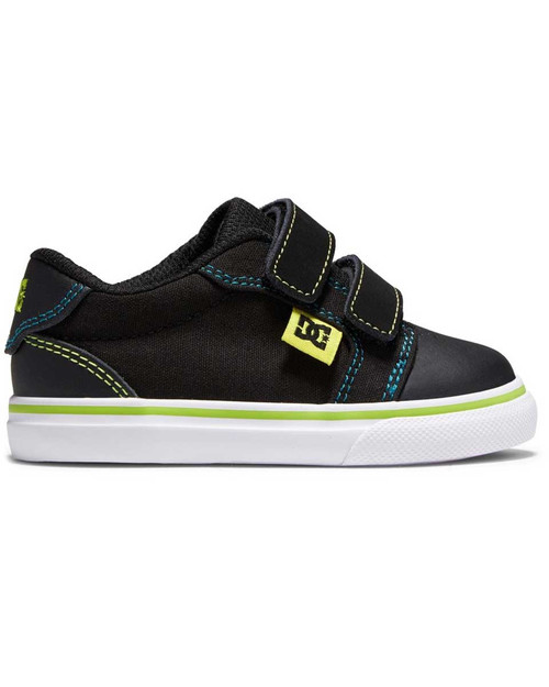 Anvil V Toddlers Shoe - Black/Green/Orange