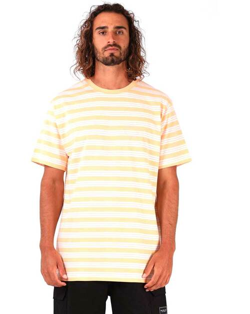 Stripe Tee -Sunburst Stripe