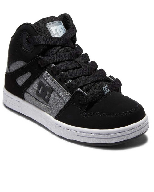 Pure High - Top Youth - Black/Charcoal