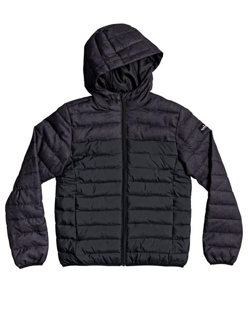 Scaly Mix Boys Puffer Jacket