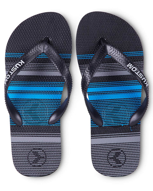 Boys Blend Blue Stripe Jandal
