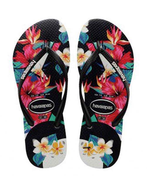 Slim Tropical Floral Girls