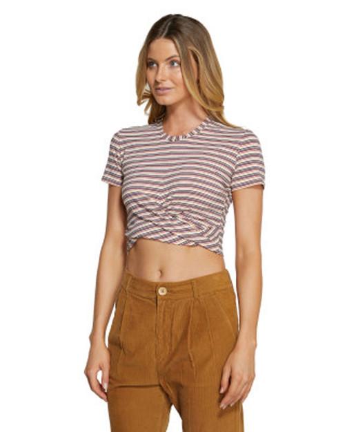 Embrace Stripe Tee - Allsorts Stripe