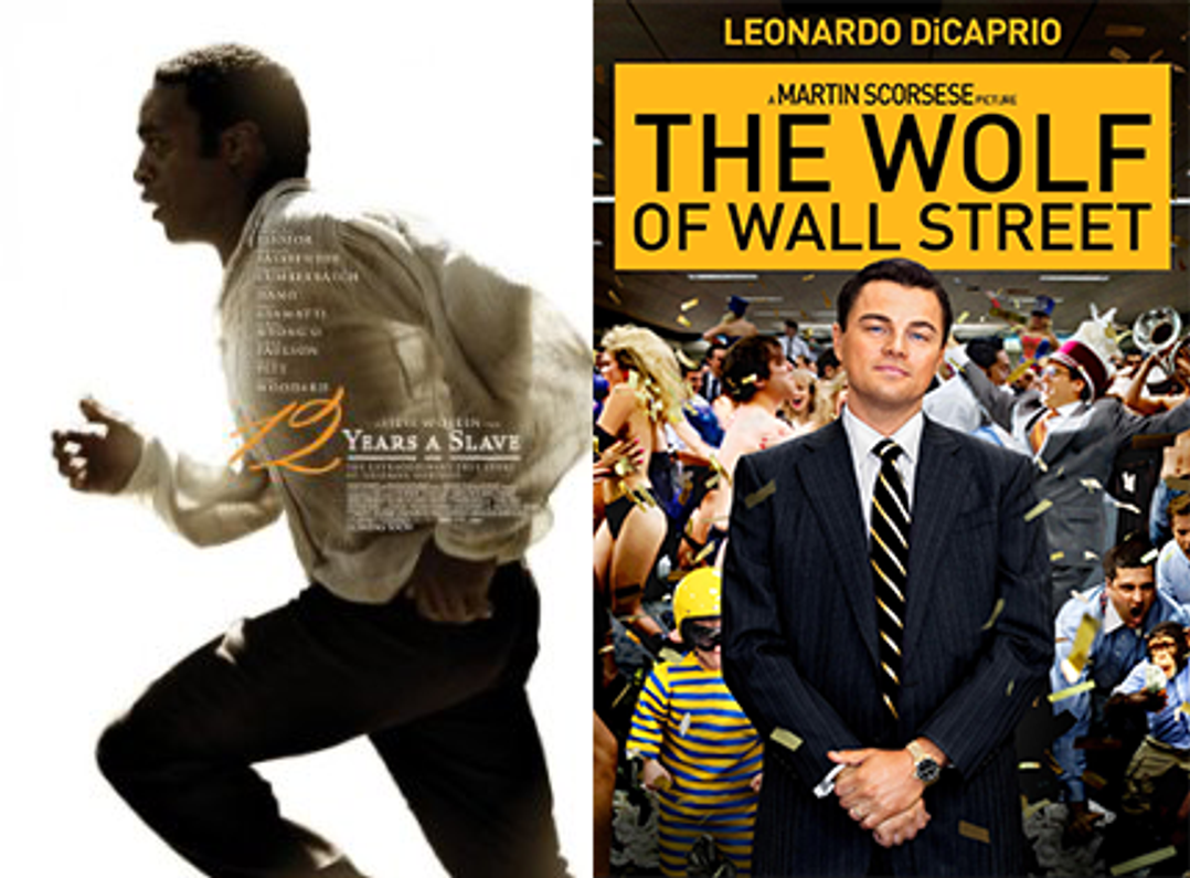 Books-Turned-to-Movies Clean Up at the 2014 Golden Globes