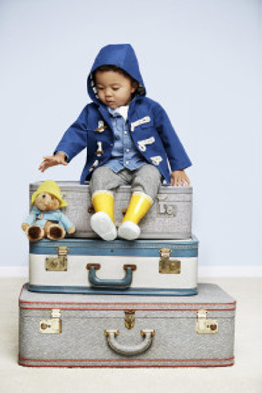 Paddington Bear Sets the Trend for Children's Fashion